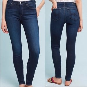 AG The Abbey Mid Rise Super Skinny Jeans